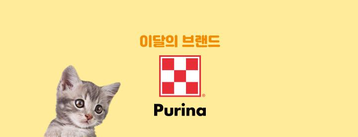 이달의 브랜드 Purina